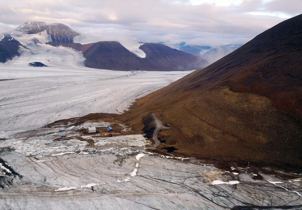 Anleggsarbeid på Lunckefjell